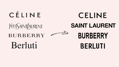 Waarom alle nieuwe logo's van modemerken zo sterk op elkaar lijken