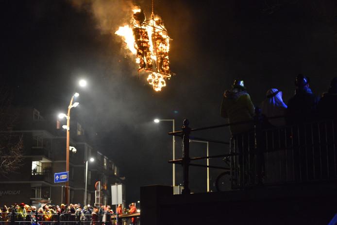 Verbranden van Kiske en Mieske.