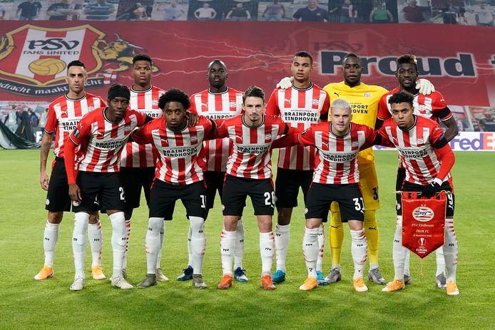 PSV afgelopen duel voor het duel met PAOK Saloniki.