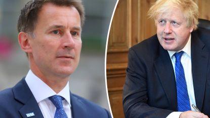 Britse minister van Buitenlandse Zaken Boris Johnson neemt ontslag en wordt opgevolgd door Jeremy Hunt