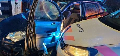 Auto na achtervolging op hoge snelheid klemgereden in Maarssen