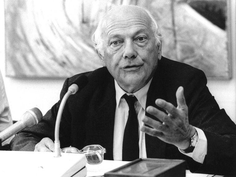 Joop den Uyl verdedigde met hartstocht 'de smalle marges van de democratische politiek'. Beeld ANP