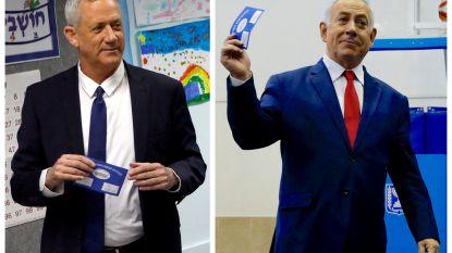 Nek-aan-nekrace bij verkiezingen Israël: exitpolls tonen geen afgetekende winnaar