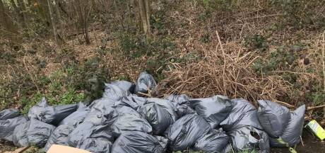 Tientallen zakken hennepafval gevonden in Lunteren
