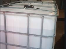 4.000 liter illegaal oplosmiddel gevonden op bedrijventerrein Oss