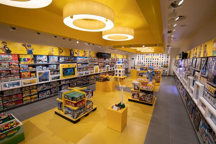 Een Legostore in Engeland.