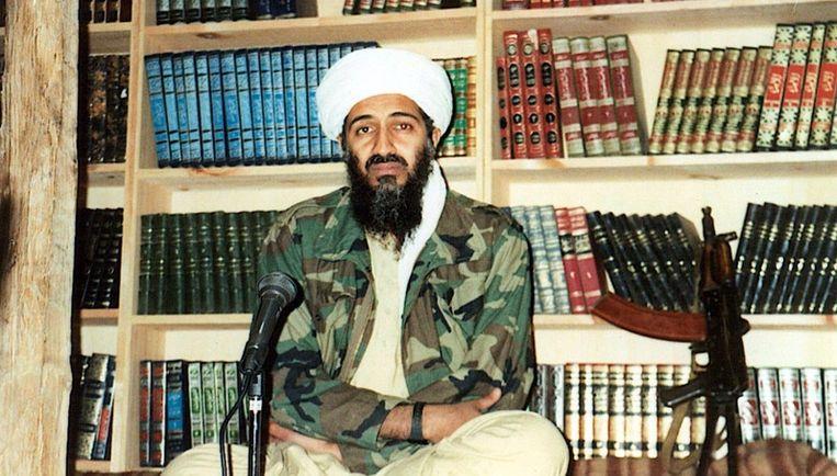 Saad is één van Osama's (foto) vele zonen, misschien wel twaalf. Sommigen hebben Afghanistan of Pakistan verlaten en zijn teruggekeerd naar Saoedi-Arabië, het land van herkomst van hun vader. Foto GPD Beeld