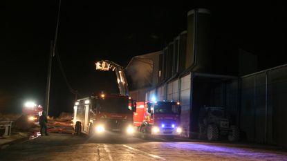 Tweede brand in acht maanden in pas gerenoveerde droogtoren landbouwbedrijf