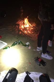 Kampvuren en zwerfafval van jongeren zorgt voor overlast in Voornes Duin
