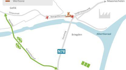 Oversteek brug Briegden wordt veiliger