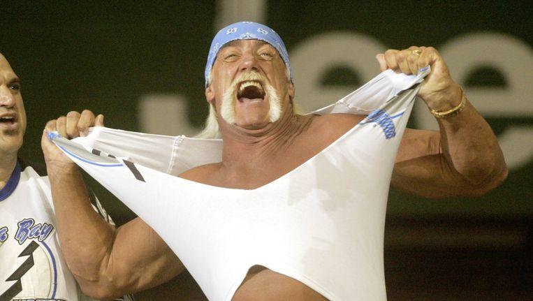 Gawker lijkt zich fataal te hebben verslikt in showworstelaar Hulk Hogan. Beeld anp