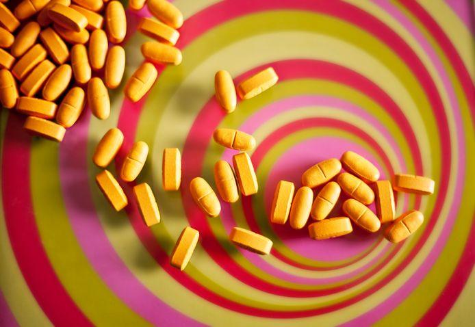 Psychedelische drugs. Foto ter illustratie.