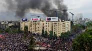 Nieuwe protesten in Chili, grote brand in universiteit