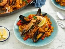 Wat Eten We Vandaag: Paella met zeevruchten