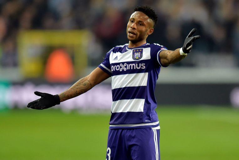 Imoh Ezekiel, hier nog in het shirt van Anderlecht.