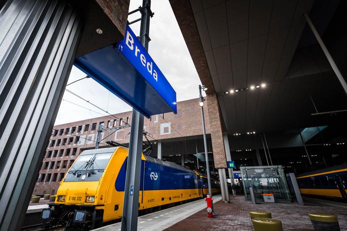 De treinen op het HSL-spoor die ook Breda aandoen kampen nog altijd relatief vaak met vertraging en uitval.