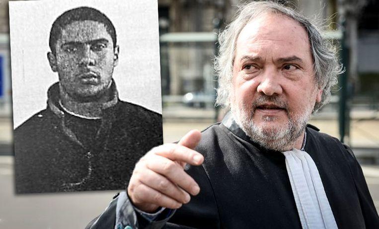 Meester Vincent Lurquin ontdekte de diefstal gisterenavond toen hij terugkwam van het assisenhof in Brussel. Inzet: hoofdbeschuldigde Mehdi Nemmouche.
