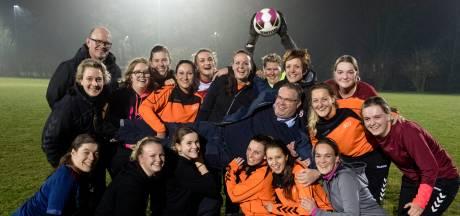 Maas en Waals voetbal koestert vrouwen en meisjes
