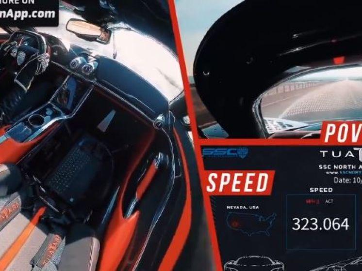 Record battu: une voiture dépasse les 500 km/h pour la première fois