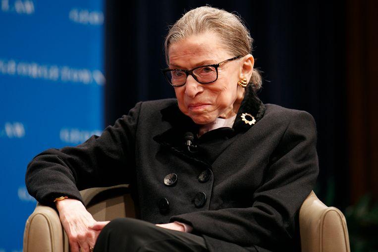 Amerikaanse rechter Ruth Bader Ginsburg (86) in het ziekenhuis | De Morgen