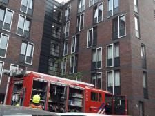 Studentencomplex in Wageningen ontruimd na keukenbrand