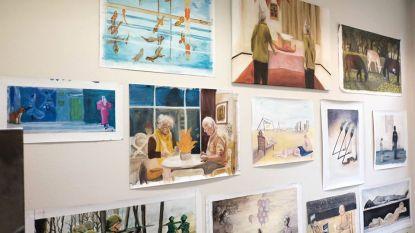 Virtuele tentoonstelling in academie Nijlen