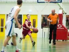 Basketballers Wyba sluiten jaar af met nipte nederlaag
