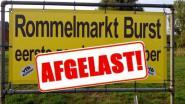 VTB Kultuur Burst schrapt rommelmarkt van 6 september