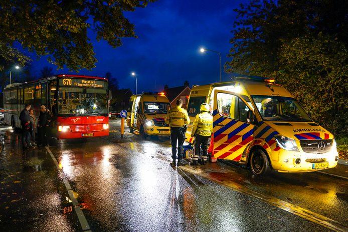 Voetganger zwaargewond bij aanrijding met stadsbus