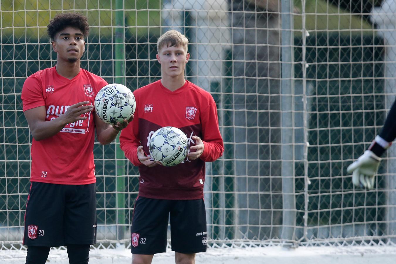 Godfried Roemeratoe en Jesse Bosch staan op het punt een nieuw contract te tekenen bij FC Twente.