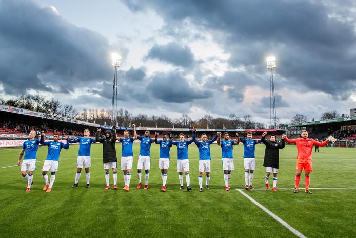 PSV na de 1-2 overwinning op Woudestein van zondag.