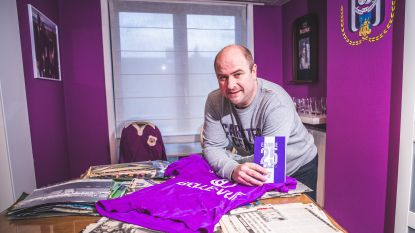 Grootste Anderlechtfan zoekt nog oude artikels en enkele handtekeningen voor zijn enorme verzameling