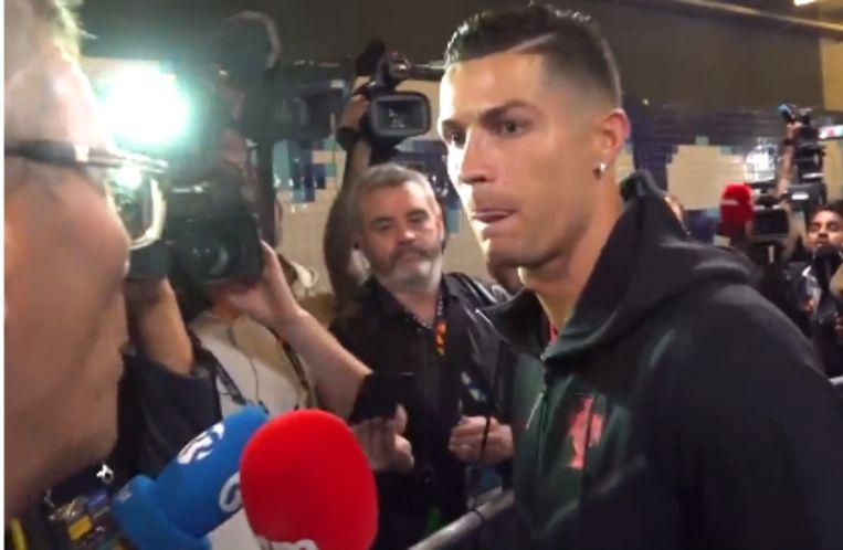Ronaldo reageerde bij VTM Nieuws.