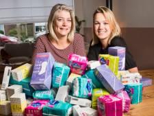 'Menstruatiearmoede' is geen probleem in Enschede