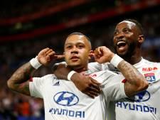 Uitblinker Memphis walst met Lyon over Angers SCO heen