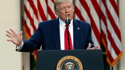 """Trump reageert op nieuws dat meer mensen bleekmiddel gebruiken: """"Ik kan me niet inbeelden waarom"""""""