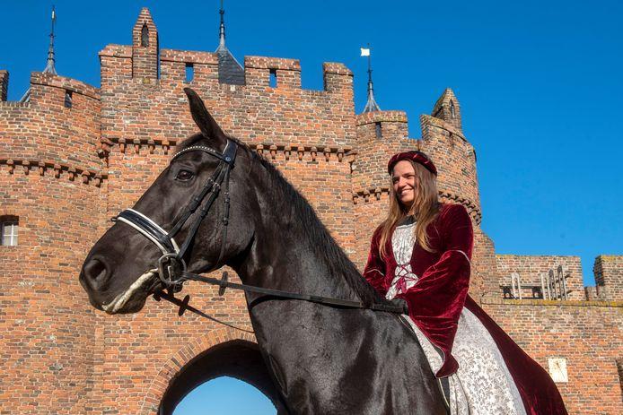 Florisdag bij kasteel Doornenburg.