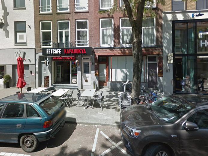 Het eetcafé in Rotterdam
