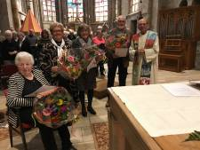 Jubilarissen van Oldenzaalse Basiliek Koor in het zonnetje gezet