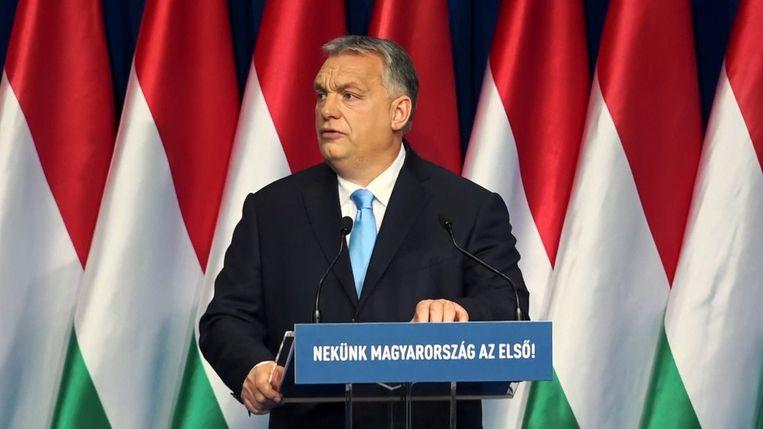 Victor Orban, eerste minister van Hongarije.