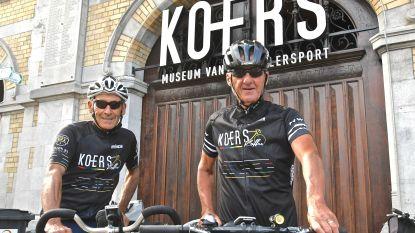 """Marc Renier en Rino Vandromme per fiets naar Santiago de Compostella: """"Als renners heel Europa doorkruist maar nooit meer gezien dan voorligger. Nu willen we echt genieten"""""""