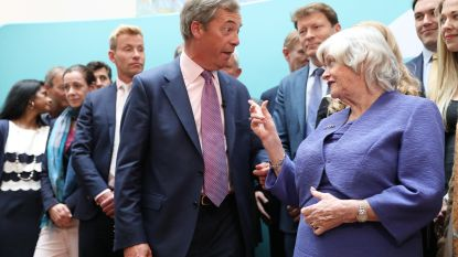 """Farage verdedigt uitspraak van politica over homotherapie: """"Dat is een gewetenskwestie"""""""