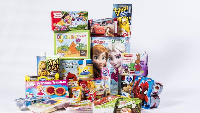 In de hele supermarkt worden klanten verleid producten te kopen. Dat varieert van de mooie verpakkingen tot muziek en geur in de supermarkt.