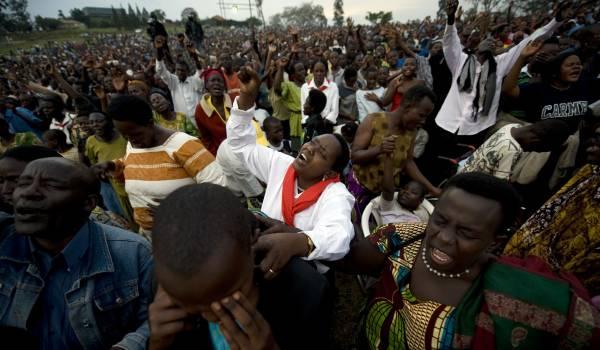 Gods plan met Afrika loopt gevaar