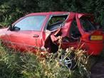 Veel schade aan twee gebotste auto's op A59 bij Heesch