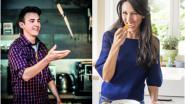 POLL. Wie zie jij het liefst koken: Sandra Bekkari of Loïc Van Impe?