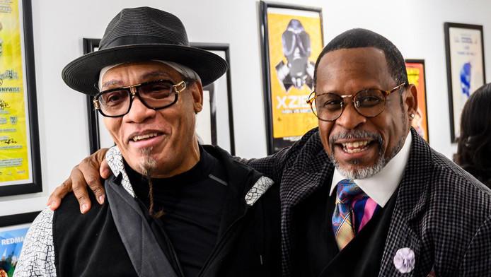 Melvin Glover, aka Melle Mel en Guy O'Brien, aka Master Gee van The Sugarhill Gang
