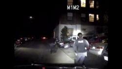 Onthutsende bodycambeelden: agenten vuren kogelregen af op vluchtende auto