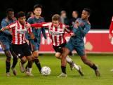 Jong PSV houdt Jong Ajax met remise van koppositie af