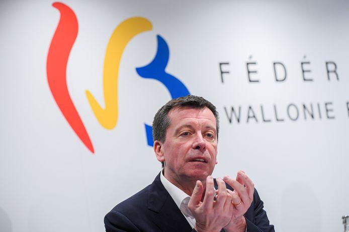 Le ministre du Budget de la FWB, Frédéric Daerden (PS).